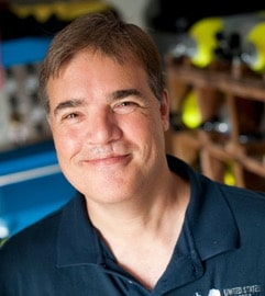 Dr. Brian Helmuth, aquanaut