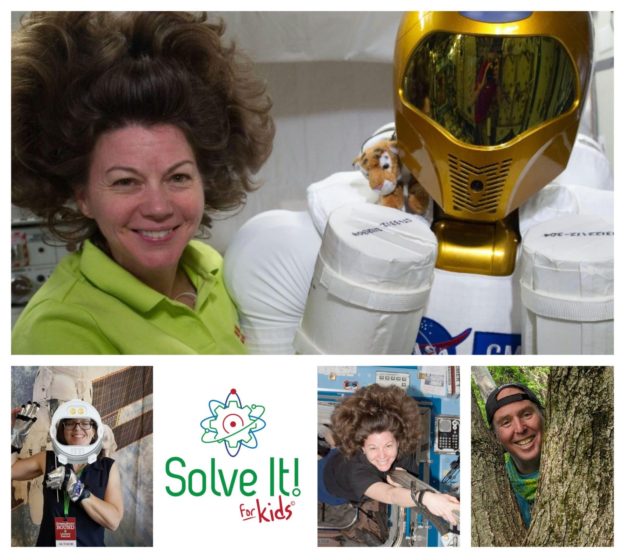 Astronauts - Solve it for kids podcast