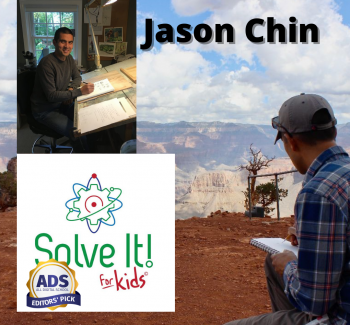 Episode 23: Jason Chin talks about using art to explain science
