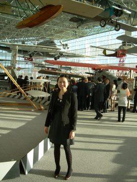 flight museum with Janice Lao