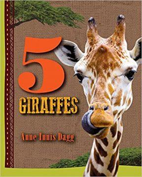 5 Giraffes Book cover