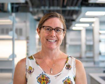 Dr. Kelly Elkins, forensic scienti