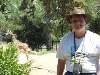David Brown, giraffe scientist