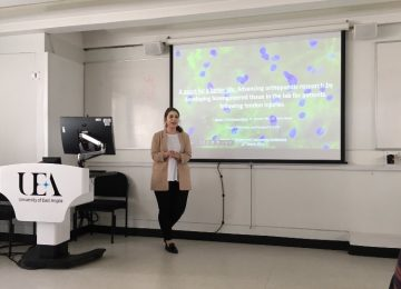 Research talk by Dr. Noelia