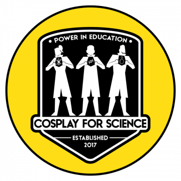 cosplay for science logo